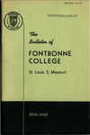 Tuition & Fees: Fontbonne College Catalog, 1956-1957 by Fontbonne University Archives