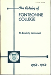 Tuition & Fees: Fontbonne College Catalog, 1963-1964 by Fontbonne University Archives