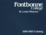 Tuition & Fees: Fontbonne College Catalog, 1981-1983 by Fontbonne University Archives