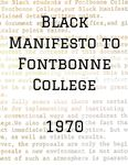 Black Manifesto to Fontbonne College by Fontbonne College